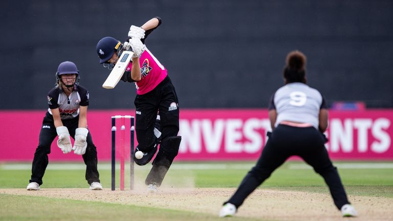 Blythin has played in the T20 Pro:Am tournament this season, as well as the Women's One-Day County Championship