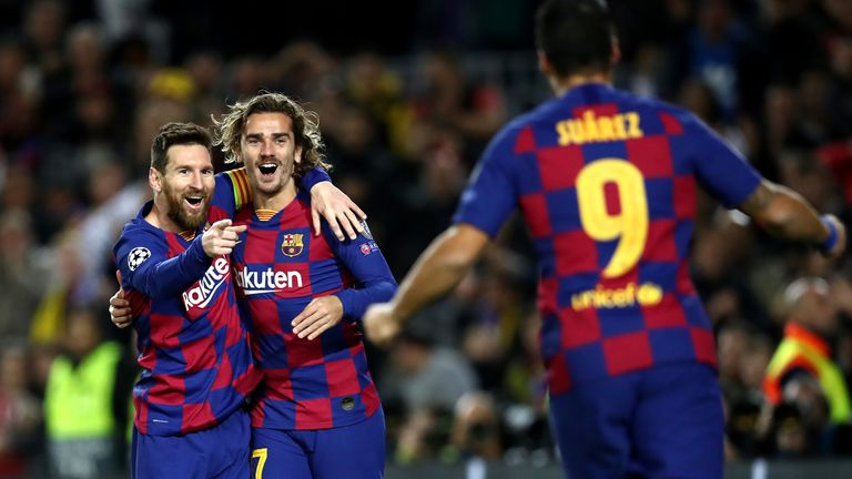 Lionel Messi marked his 700th Barcelona appearance with a goal and two assists in a 3-1 victory over Borussia Dortmund