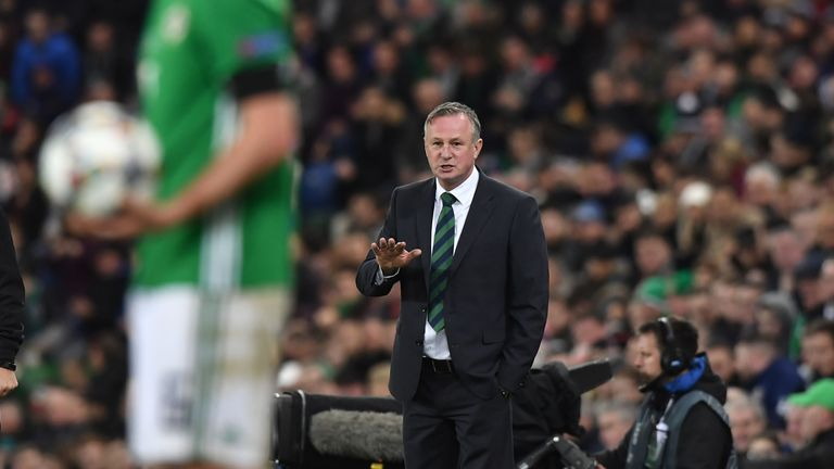 Michael O'Neill has helped Northern Ireland rise as high as 20th in the FIFA world rankings.