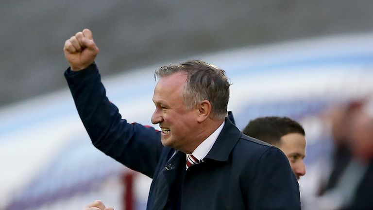 O'Neill won his first game as Stoke manager on Saturday