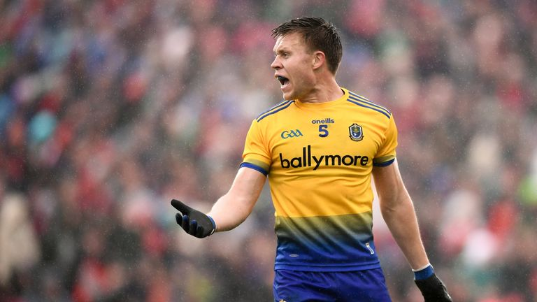 Padraig Pearses club man Niall Daly proudly dons the primrose and blue jersey