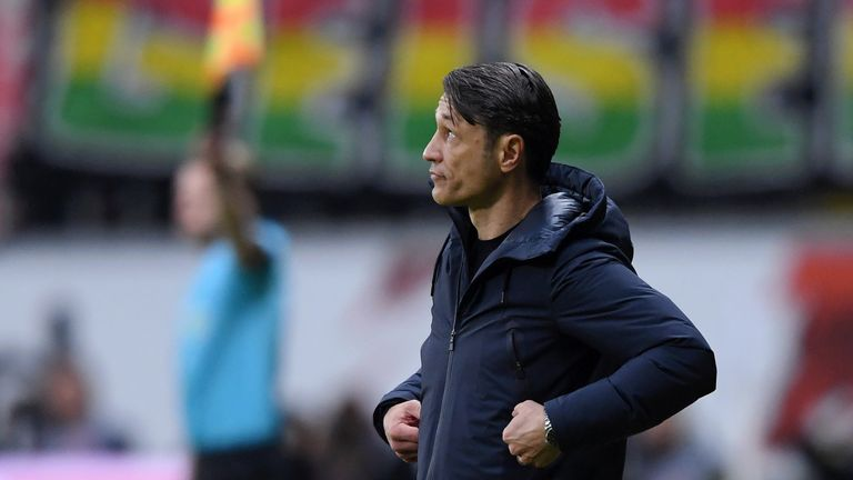 Niko Kovac came under increasing pressure at Bayern Munich following his side's poor start to the season