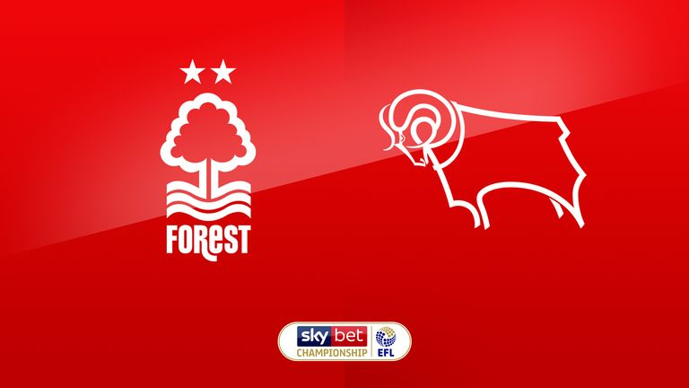 Nottingham Forest host Derby live on Sky Sports at lunchtime on Saturday