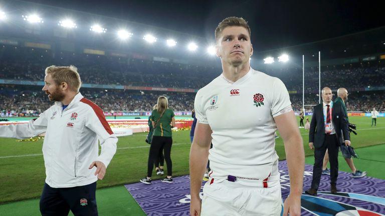 England captain Owen Farrell shared Eddie Jones' views on the World Cup final