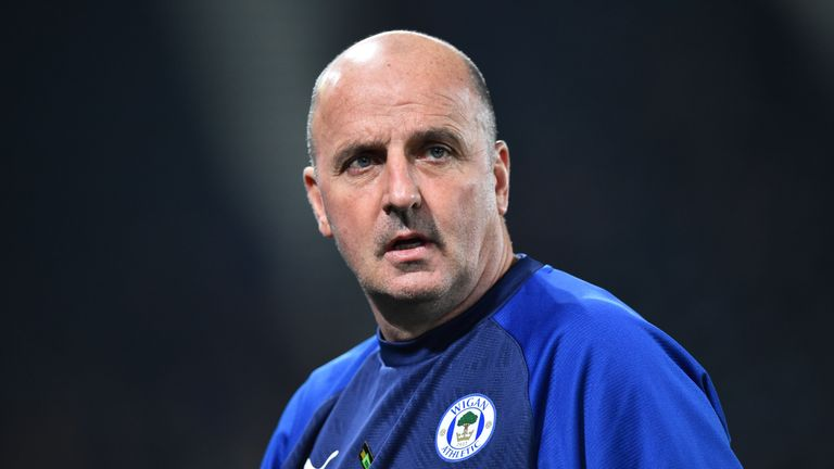 Wigan boss Paul Cook