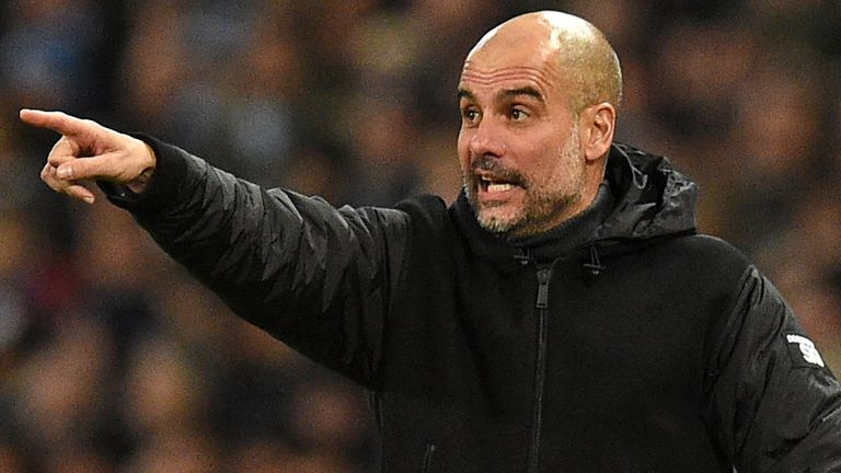 Pep Guardiola admits that his players 'came back perfectly' last week