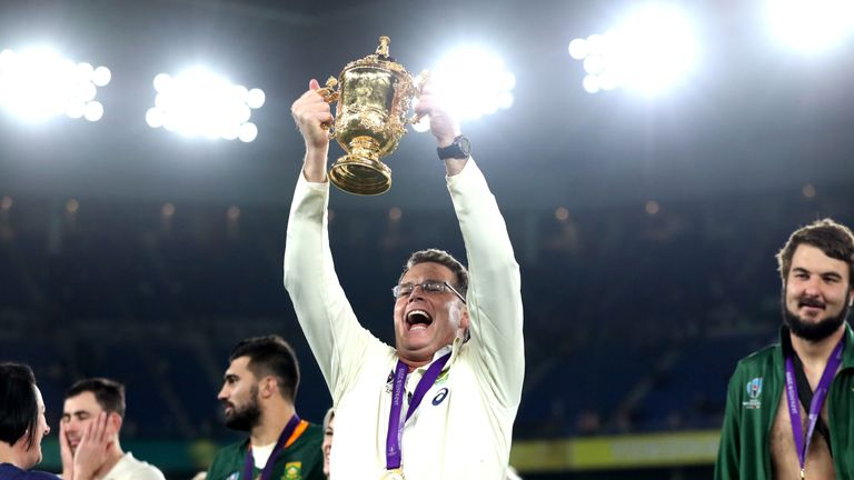 South Africa head coach Rassie Erasmus was also nominated