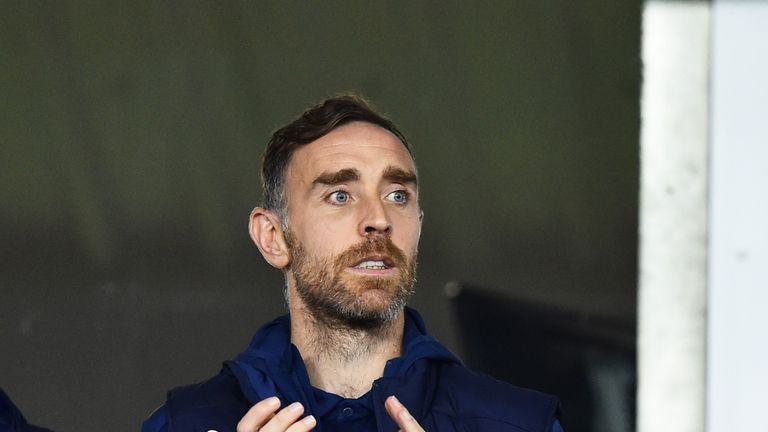 Richard Keogh was sacked by Derby last month