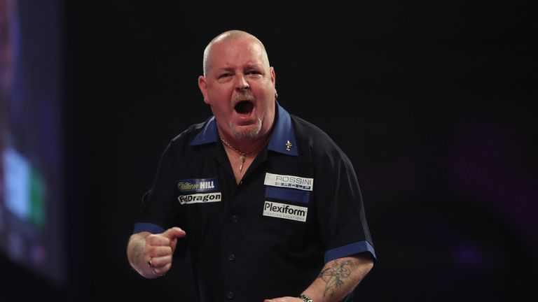 Former Grand Prix and UK Open winner Robert Thornton saw off Jermaine Wattimena to seal his spot