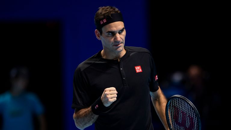 Roger Federer can't wait to take to court again with Novak Djokovic