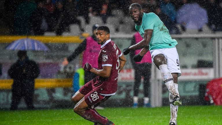 Romelu Lukaku netted his 10th goal of the season
