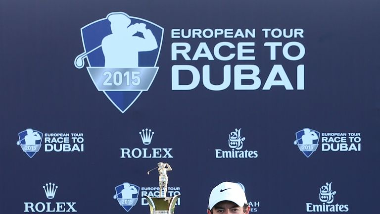 Rory McIlroy chasing five-win season, but not Race to Dubai title