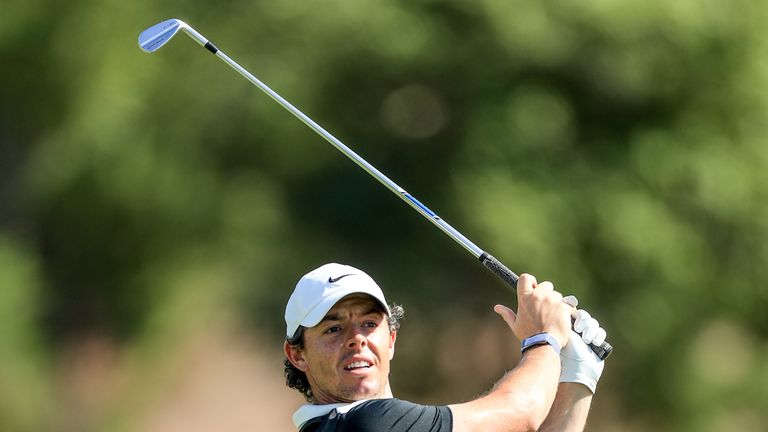 McIlroy started the week sixth on the Race to Dubai