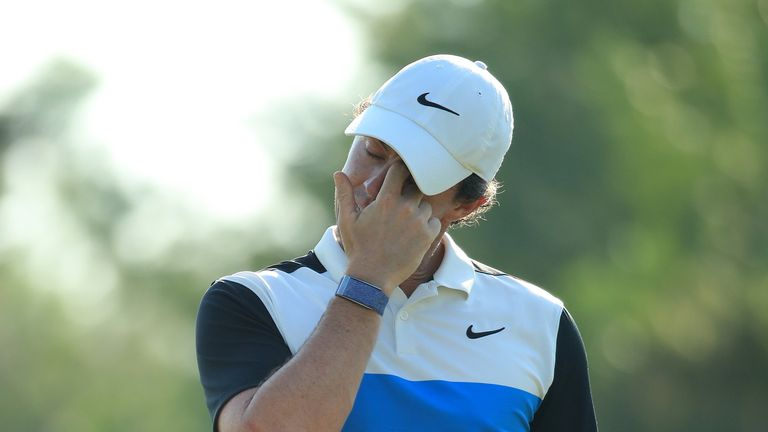McIlroy will play alongside Tommy Fleetwood on the final day
