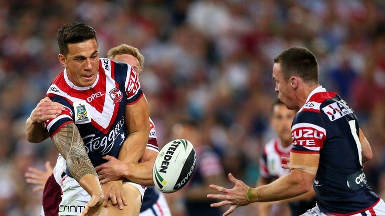 Sonny Bill Williams and former Roosters team-mate James Maloney have moved to Super League clubs