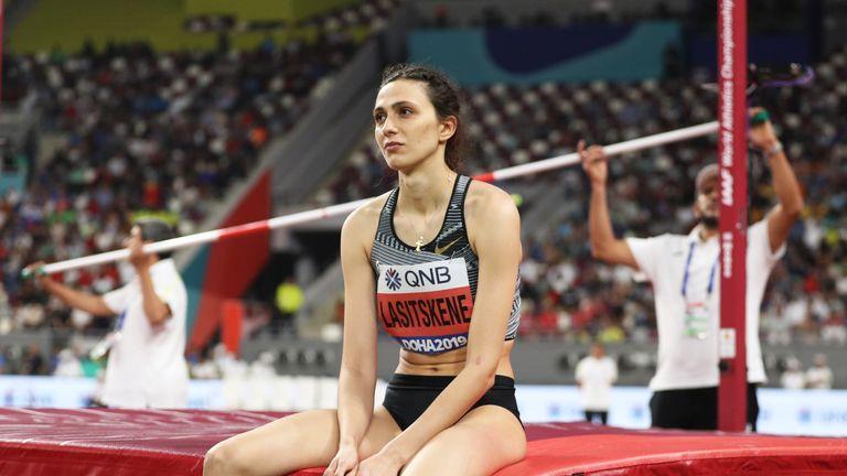 Three-time world high jump champion Mariya Lasitskene has also criticised Russian track leaders