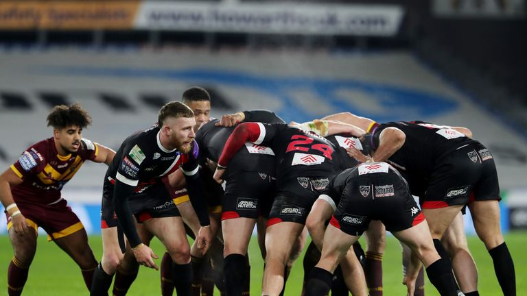 The time on the shot clock for scrums is being reduced in Super League