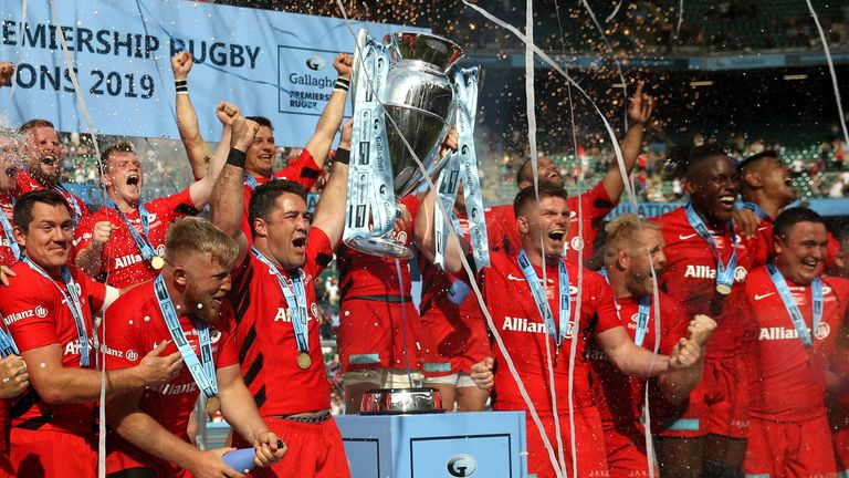 Saracens were deducted 105 points for salary cap breaches