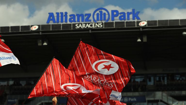 Allianz are not commenting on a story about their sponsorship deal with Saracens being terminated early