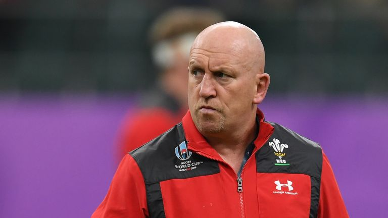 Edwards left his Wales role at the end of the World Cup in Japan