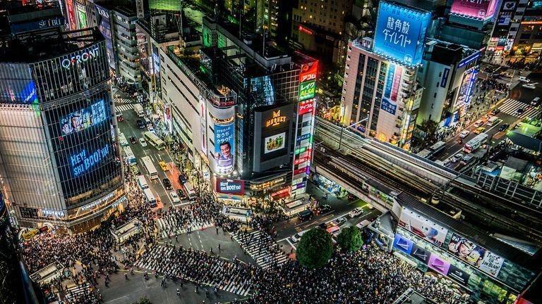The Shibuya Crossing is archetypal Tokyo