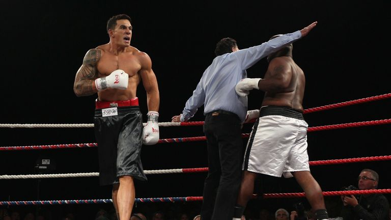 Sonny Bill Williams has enjoyed success in the boxing ring as well as on the rugby field