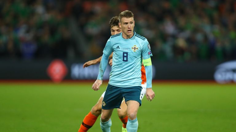 Thompson says he is always learning from the likes of Steven Davis