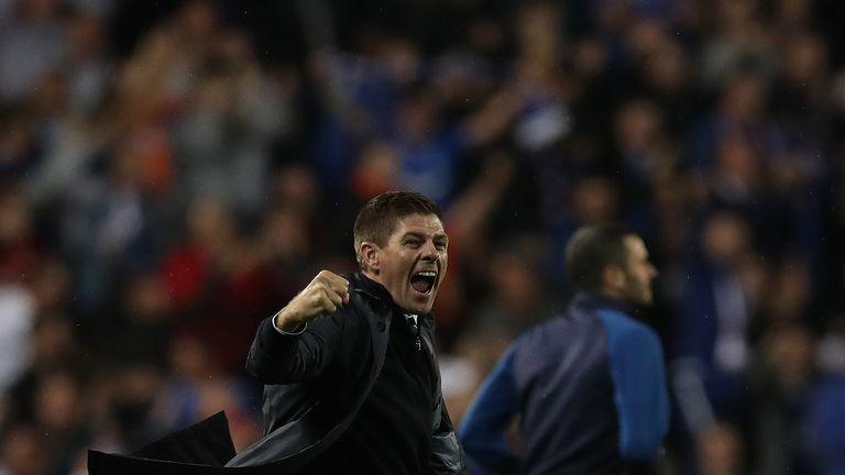 Steven Gerrard's Rangers survived a late scare