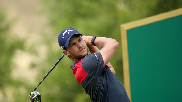 Detry is chasing a maiden European Tour title