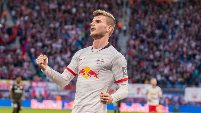 Chelsea are among a number of European clubs watching Werner