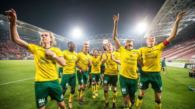 Cantwell emerged to play a significant role in Fortuna Sittard's promotion