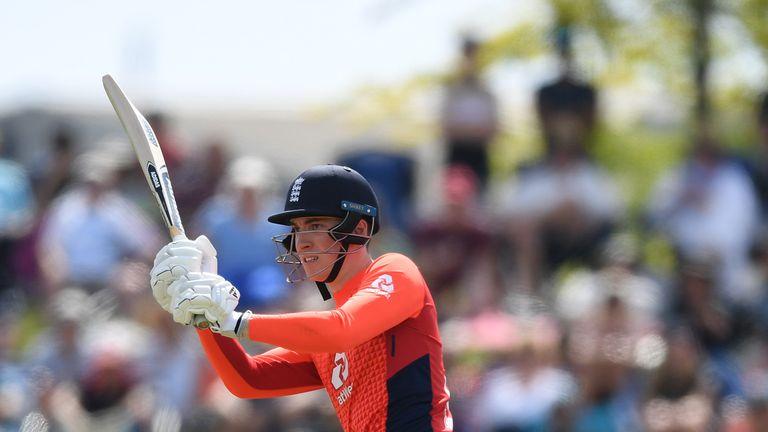 England's Tom Banton will team up with Eoin Morgan after being bought for £110k