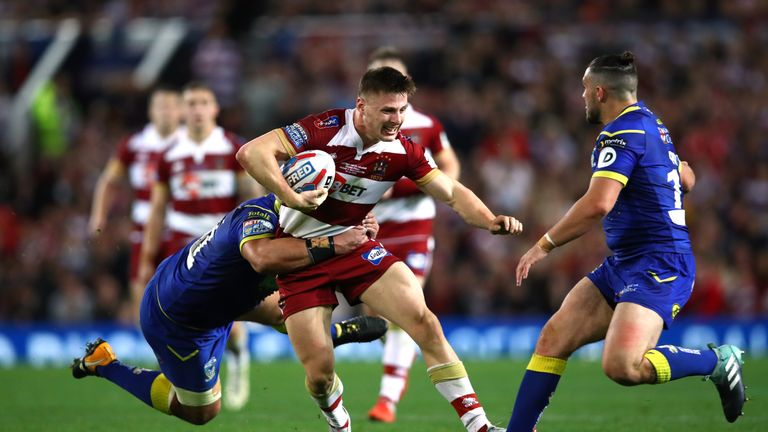 Tom Davies has become the latest Wigan Warriors player to join Catalans Dragons