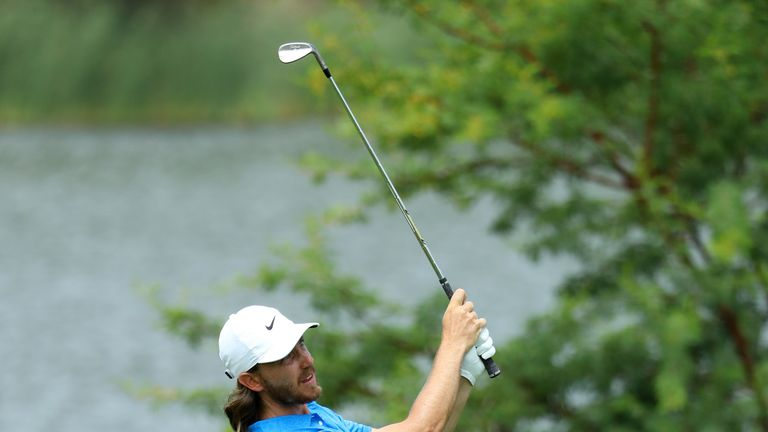 Fleetwood carded three eagles in his closing 65