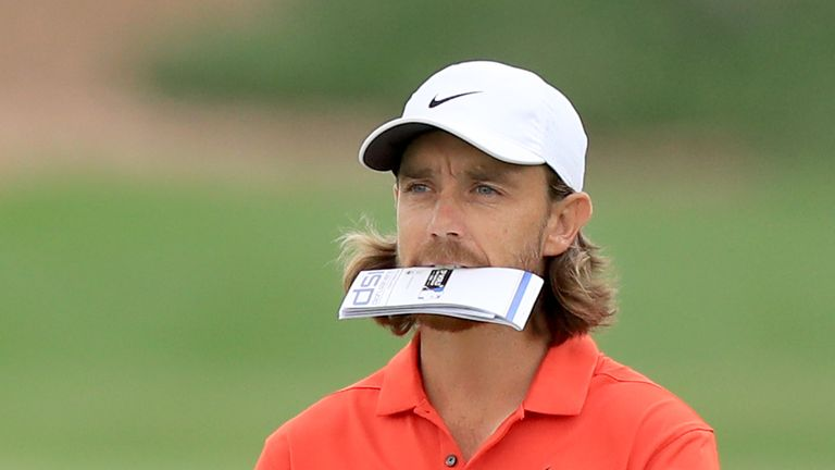 Fleetwood is bidding for a third Abu Dhabi Championship win this week
