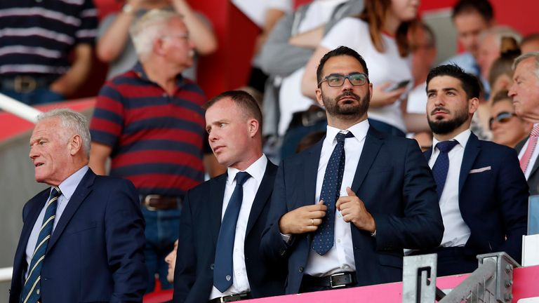 Victor Orta is Leeds' director of football and was previously with Valencia and Middlesbrough.