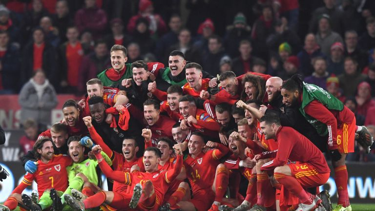 There were jubilant scenes after the final whistle