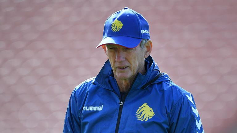 Wayne Bennett is out of contract following Great Britain's winter tour