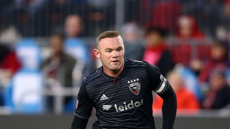 Wayne Rooney will be at Pride Park for the match against Queens Park Rangers on Saturday