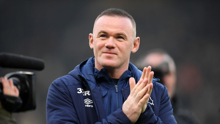 Wayne Rooney hopes Derby players will see he is just a 'normal guy'