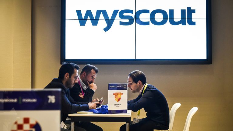 Platforms such as Wyscout allow scouts to watch players from their home