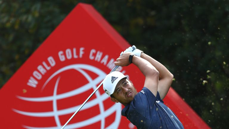 Schauffele can become the first golfer to win the WGC-HSBC Champions in successive years