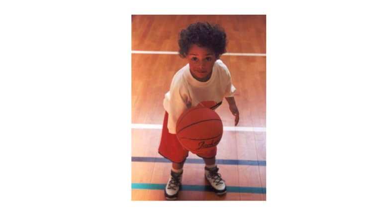 Tielemans was a keen basketball player as a child