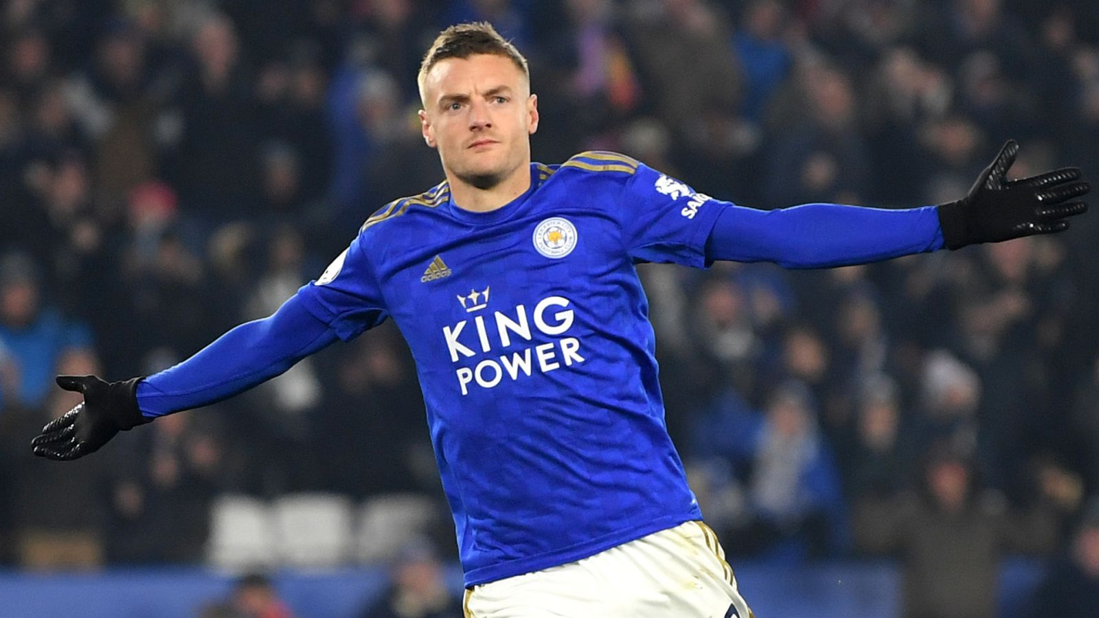 Leicester 2-0 Watford: Jamie Vardy scores for seventh league game in a row