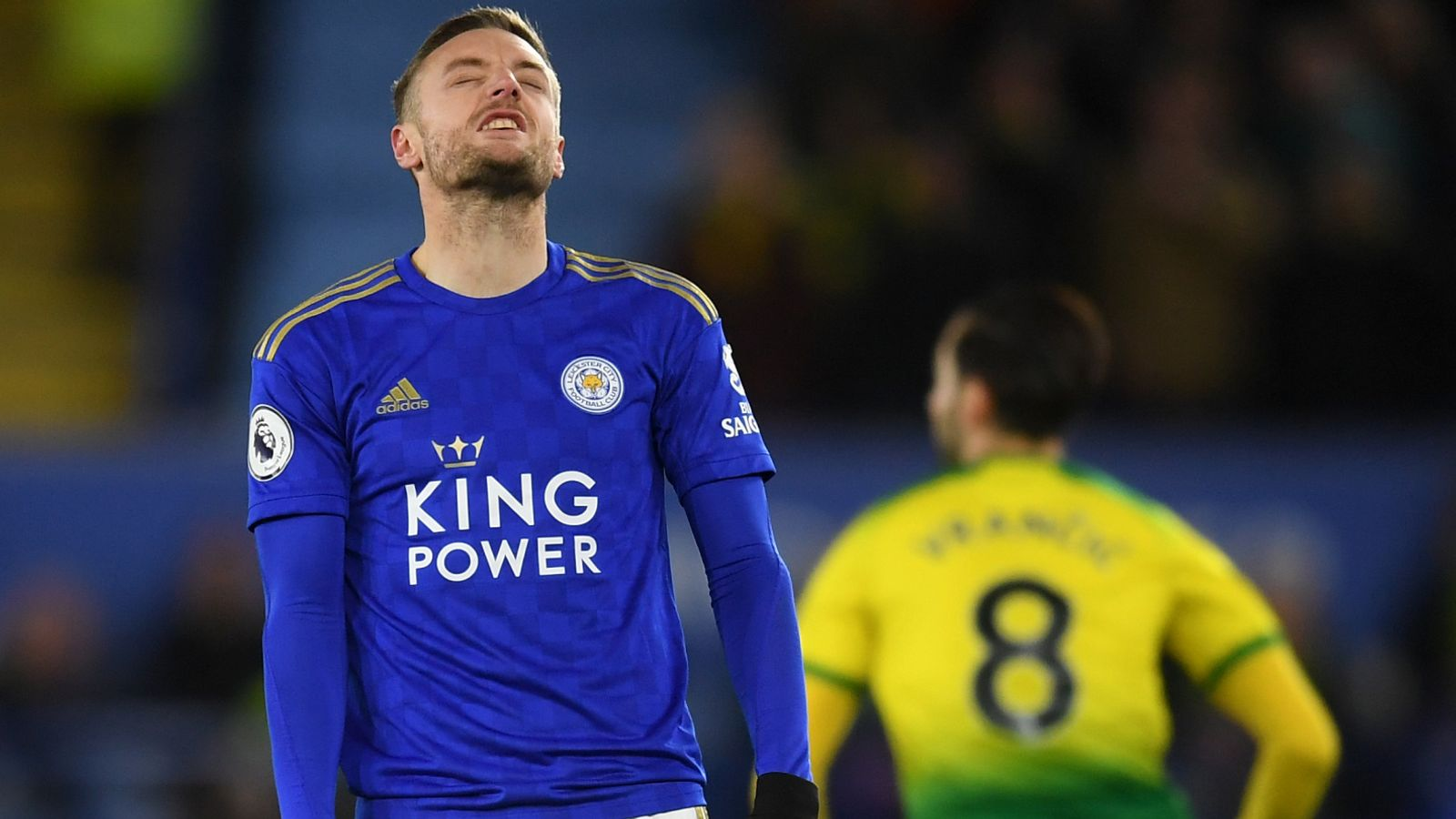 Leicester 1-1 Norwich: Foxes held as Liverpool extend lead to 10 points