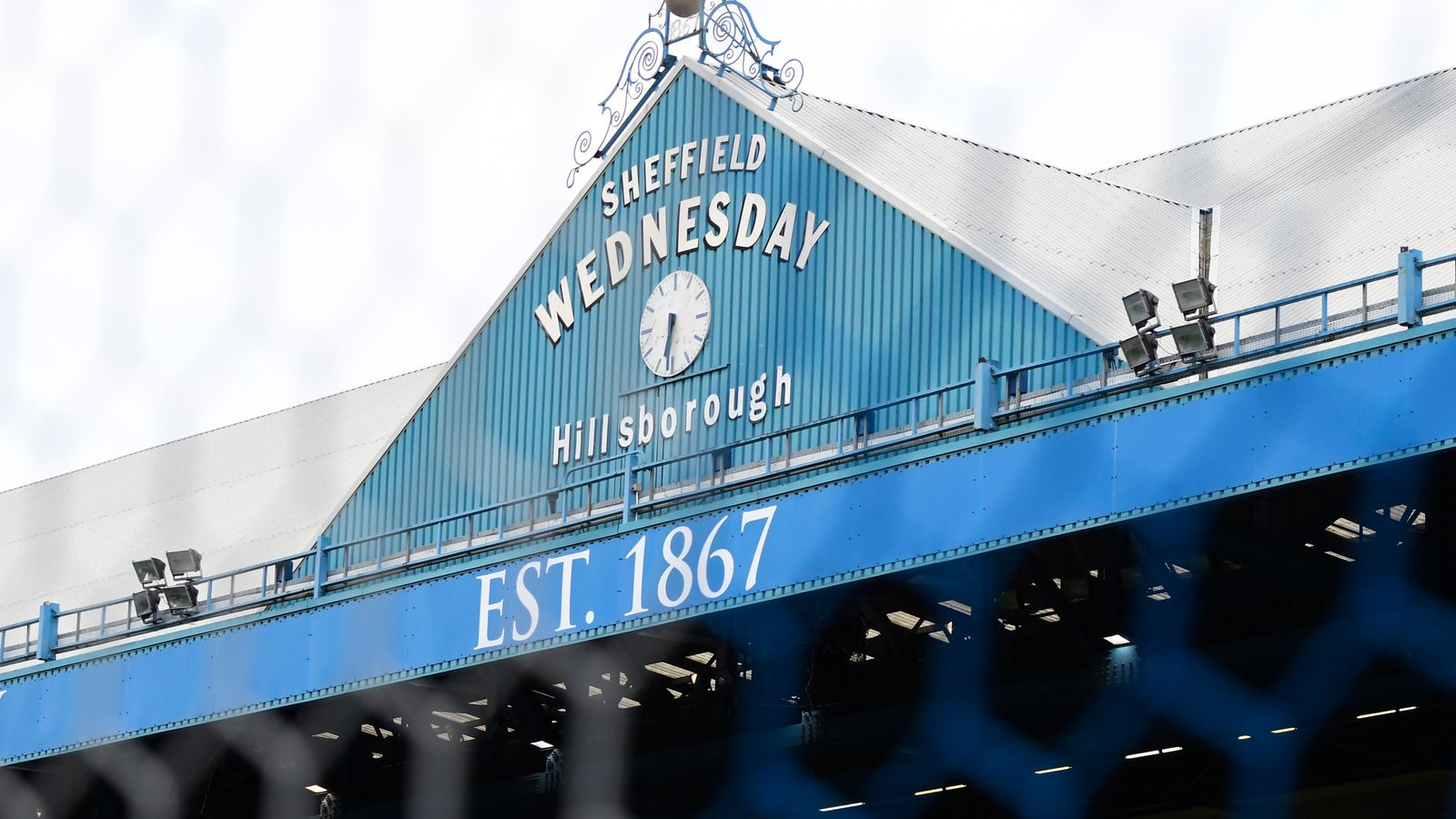 Shffield Wed fc Hillsborough Metal Street Sign 2 Sizes Available football