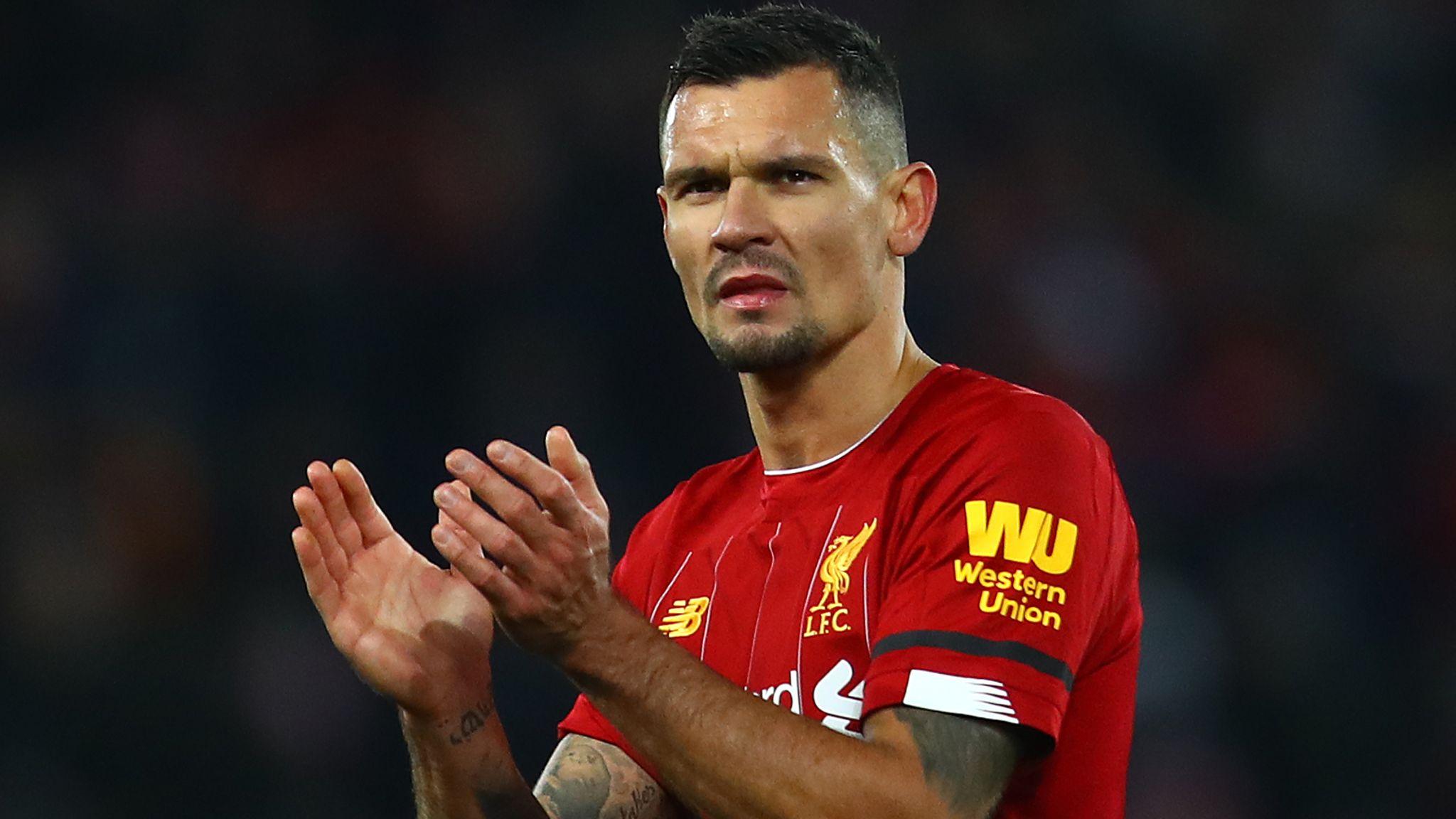 Liverpool's Dejan Lovren trains with squad ahead of Red Bull Salzburg match