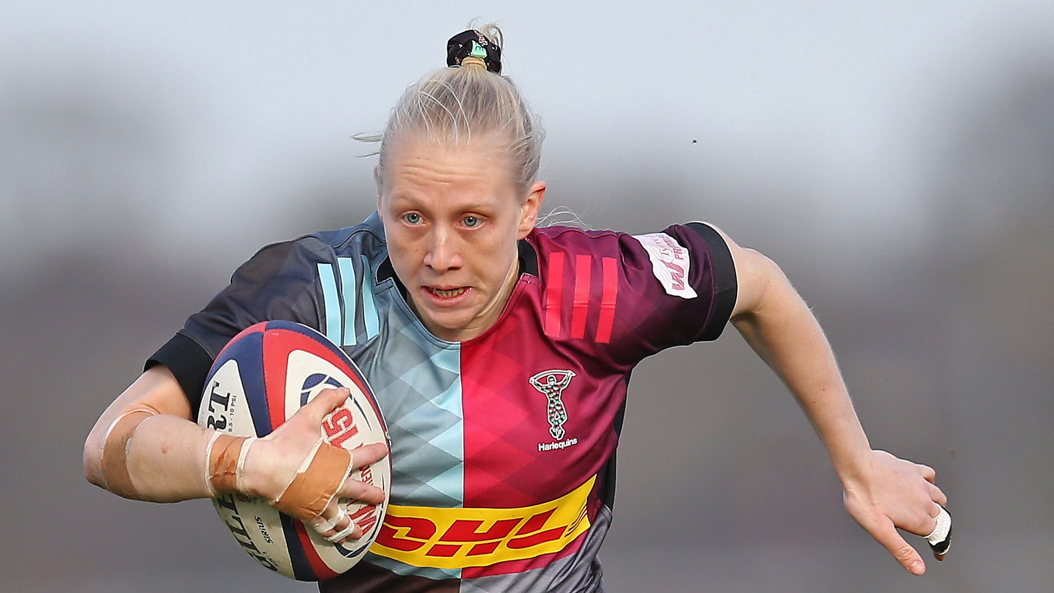 Tyrrells Premier 15s: Quins return to the top; Darlington, Loughborough, Gloucester-Hartpury win too