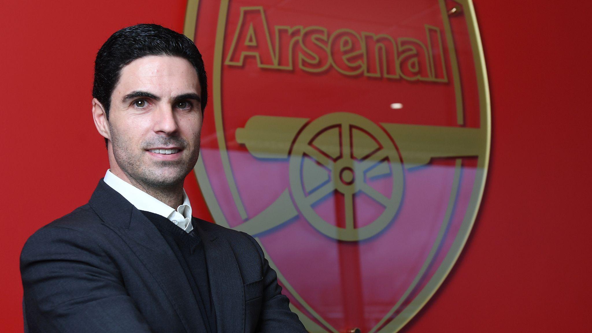 Mikel Arteta appointed Arsenal head coach | Football News | Sky Sports