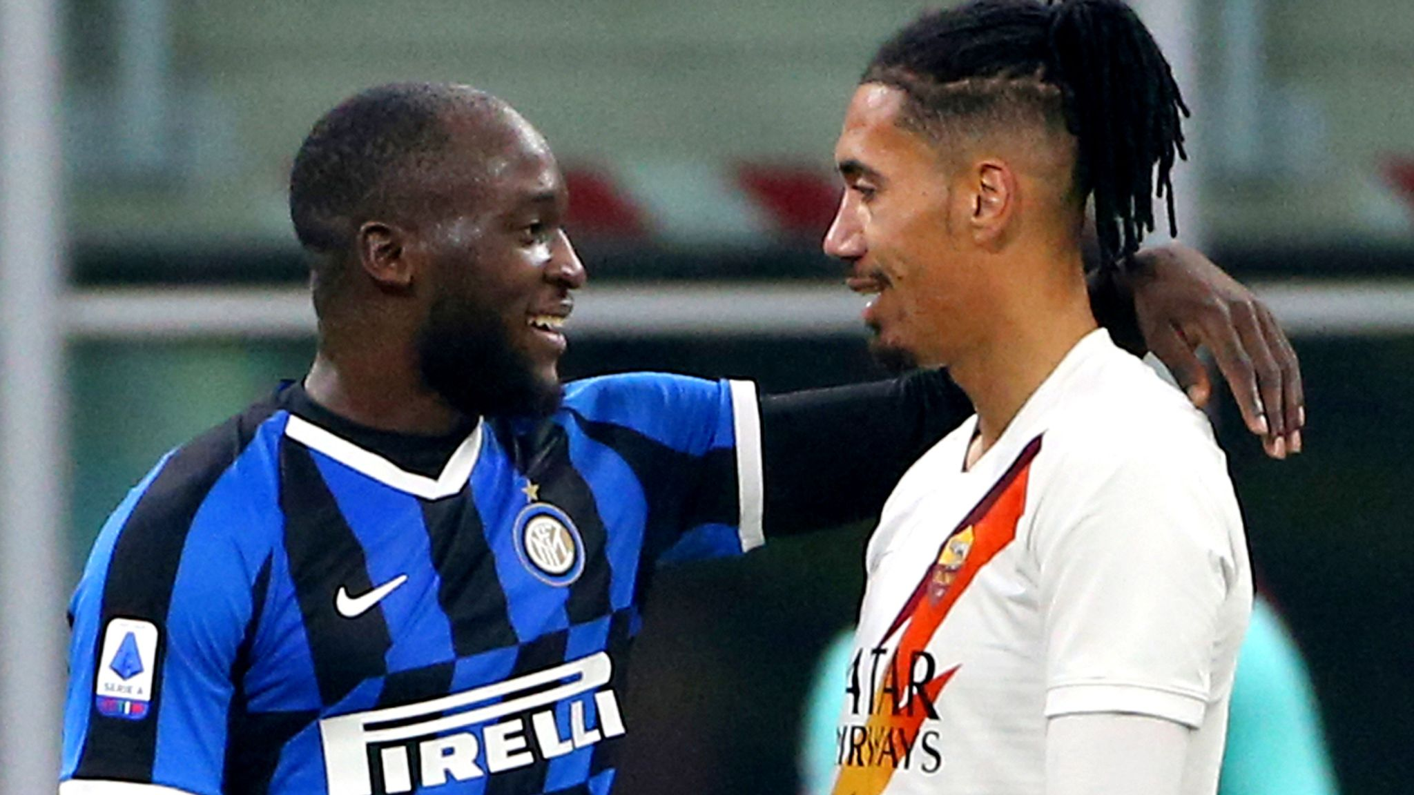 Romelu Lukaku's Inter, Chris Smalling's Roma in goalless draw after racism storm - European round-up
